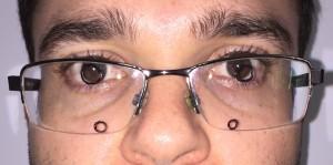 óculos ruim